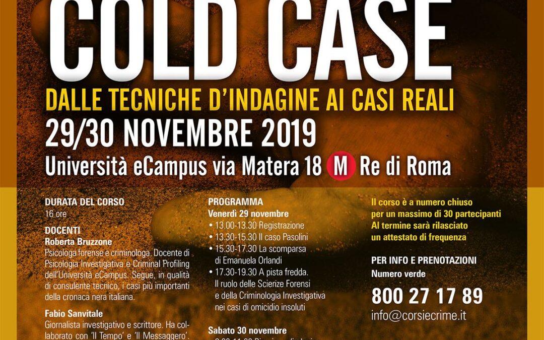 Cold Case – Dalle tecniche d'indagine ai casi reali