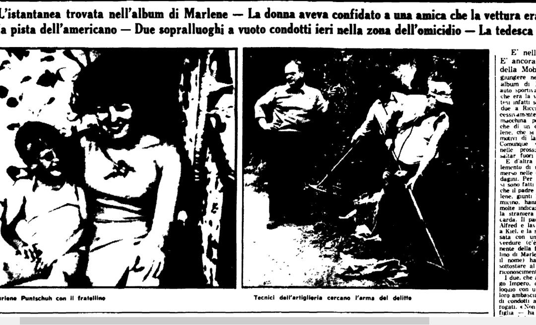 Perché Marlene si fece uccidere a Villa Borghese?